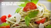 Chartwells – Commande pour la rentrée (menu août/septembre)