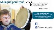 Portes ouvertes de l'École de musique Vincent-d'Indy