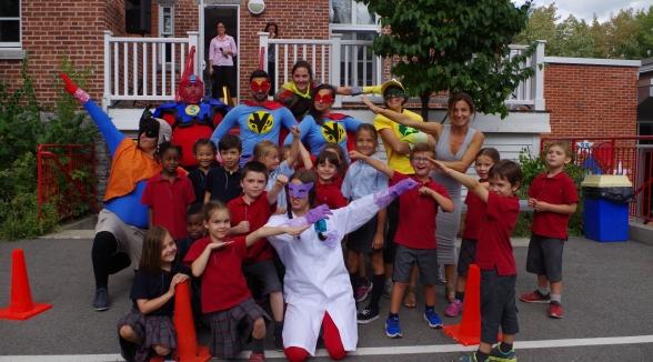 À mon école Saint-Joseph…nos superhéros ont de la C.L.A.S.S.E. !