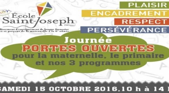 INVITATION À NOTRE JOURNÉE « PORTES OUVERTES »