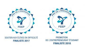 L'École Saint-Joseph, finaliste aux Prix de l'Innovation.