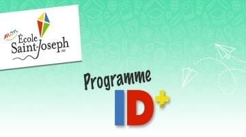 ID+, un programme spécialement adapté à l'École Saint-Joseph (1985)