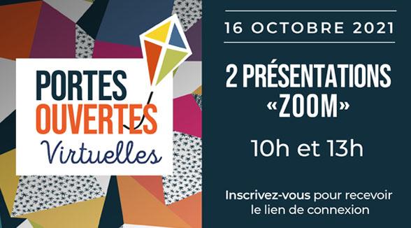 PORTES OUVERTES VIRTUELLES DU 16 OCTOBRE 2021